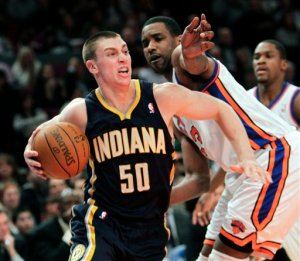 Tyler Hansbrough in action